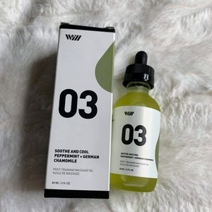 New Way of Will 03 Sooth and Cool Massage Oil 2oz